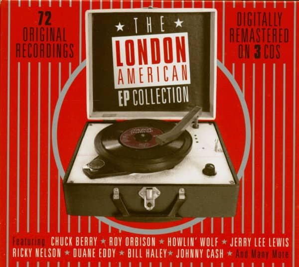 The London American EP Collection (3-CD)
