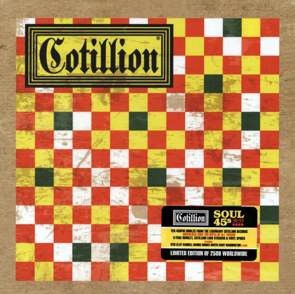 Cotillion Soul 45s (1967-1970) - Limited Edition (10x7inch, 45rpm)
