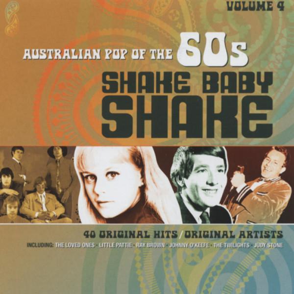 Vol.4, Shake Baby Shake - Australian 60s 2-CD