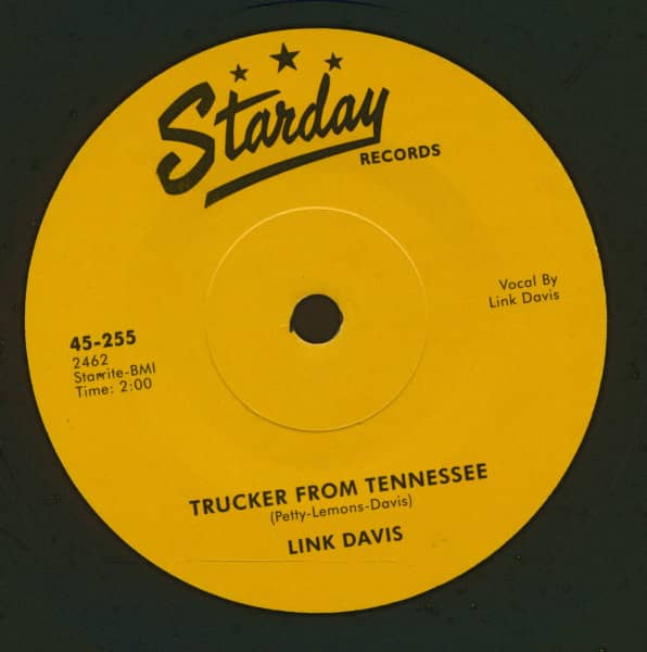 Don't Big Shot Me - Trucker From Tennessee (7inch, 45rpm, SC)