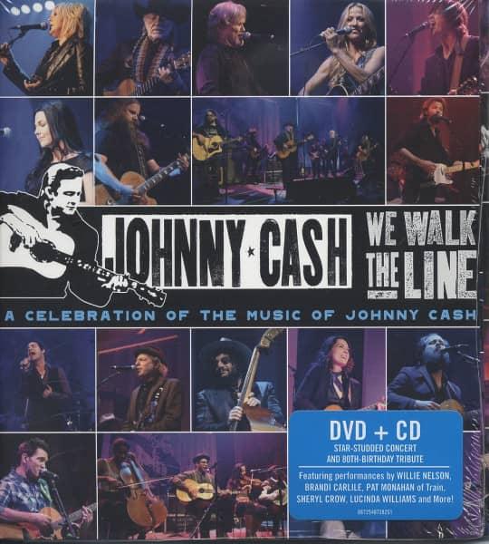 We Walk The Line: 80th Birthday Celeb.(CD&DVD