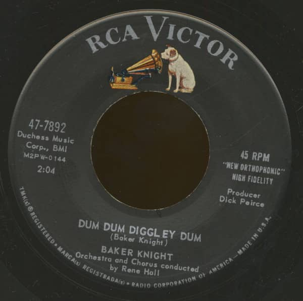 Dum Dum Diggley Dum - Anytime At All (7inch, 45rpm, BC)