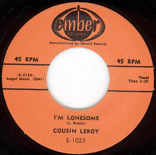 I'm Lonesome - Up The River 7inch, 45rpm