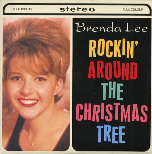 Rockin' Around The Christmas Tree - Let's Jump The Broomstick (7inch, 45rpm, PS, SC)
