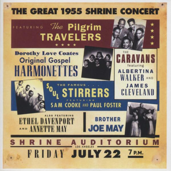 Great 1955 Shrine Concert