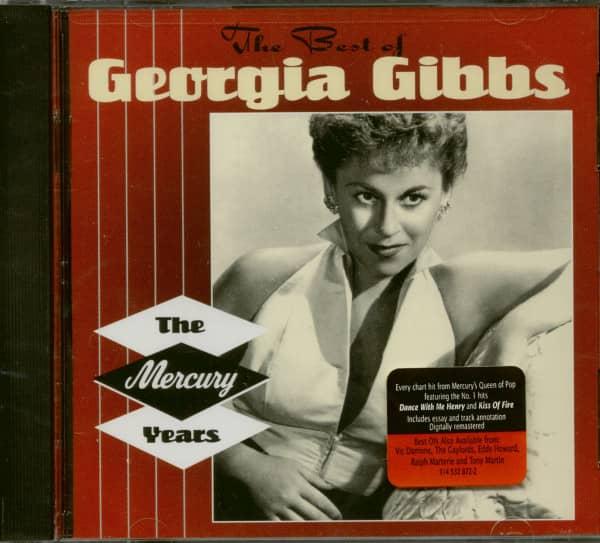 The Best Of Georgia Gibbs - The Mercury Years (CD)