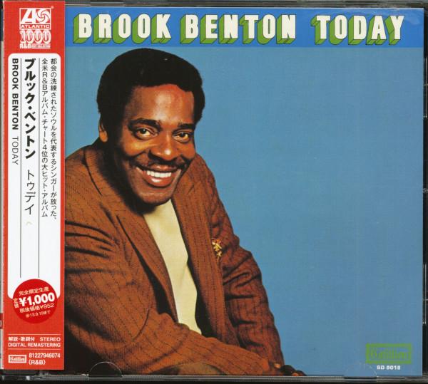 Brook Benton Today (CD, Japan)