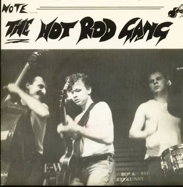The Hot Rod Gang EP (7inch, EP, 45rpm, PS, SC)