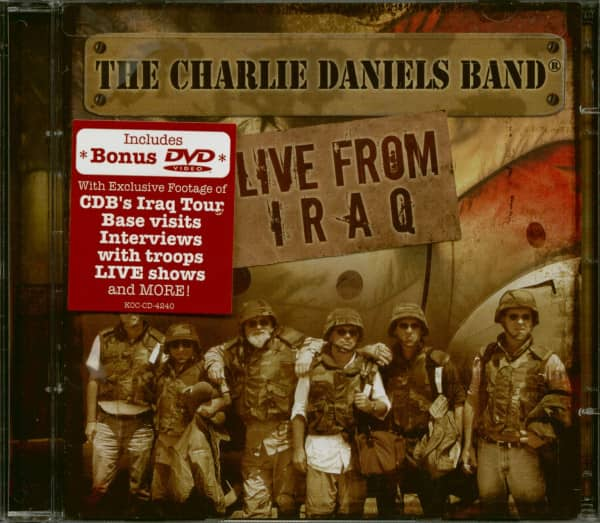 Live In Bagdhad CD&Bonus DVD