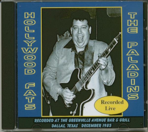 Hollywood Fats & The Paladins Live 1985 (CD)