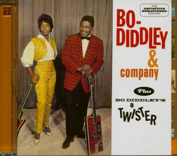Bo Diddley & Company - Bo Diddley´s A Twister (CD)