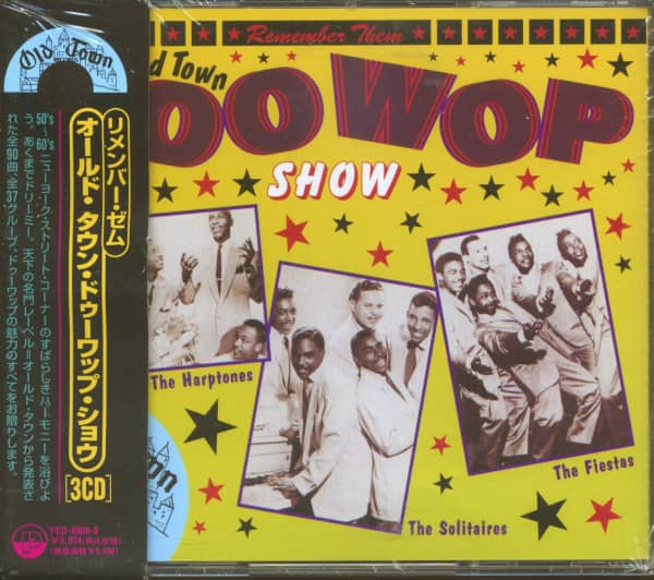 Remember Them - Old Town Doo Wop Show (3-CD)