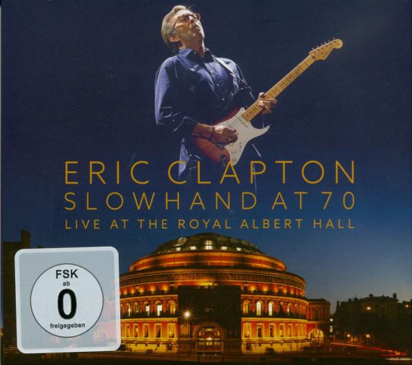 Slowhand At 70: Live At The Royal Albert Hall (2-CD,1-DVD)