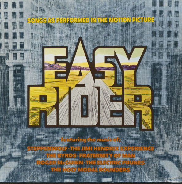 Easy Rider - Songs As Performed In The Motion Picture (LP)