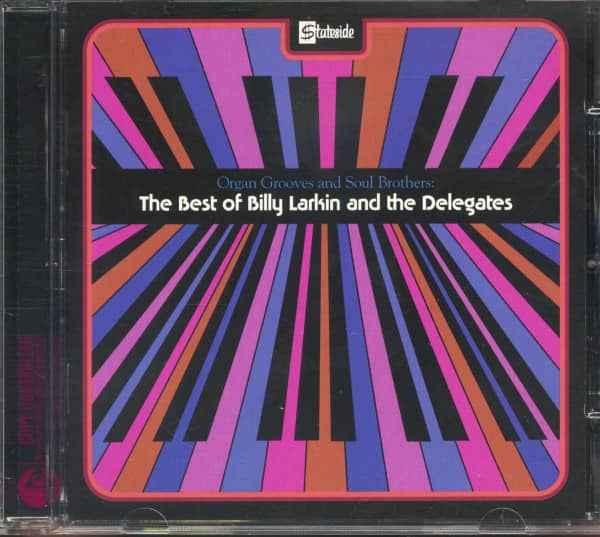 Organ Grooves And Soul Brothers - The Best Of Billy Larkin & The Delegates (CD)