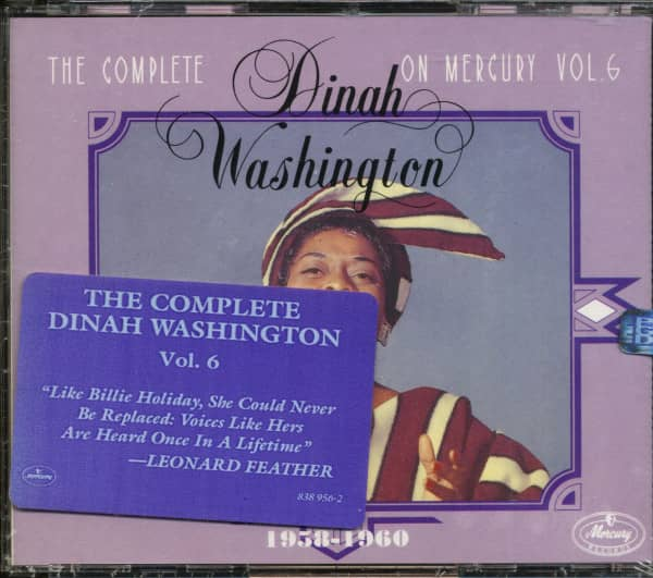The Complete Dinah Washington On Mercury, Vol.6 (3-CD)