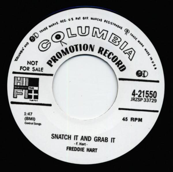 Snatch It And Grab It b-w Dig Boy Dig 7inch, 45rpm