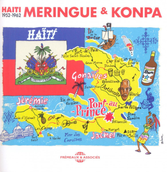 Haiti: Merengue Et Konpa (3-CD)