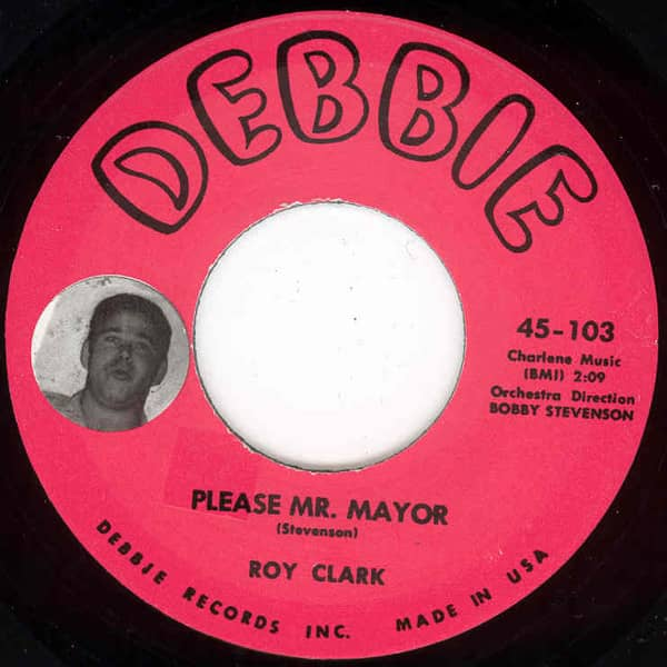 Please Mr. Mayor - Puddin' (7inch, 45rpm)
