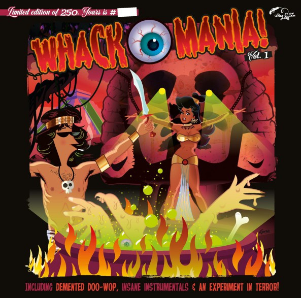 Whack-O-Mania (LP, 10inch, Ltd.)