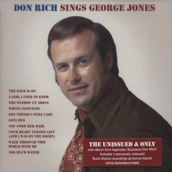 Don Rich Sings George Jones (CD)