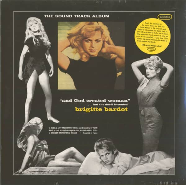 And God Created Woman - Soundtrack 180g Vinyl