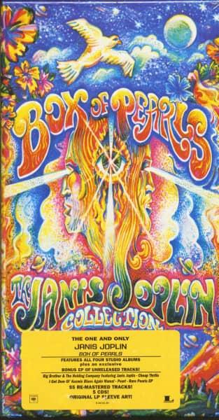 Box Of Pearls - The Janis Joplin Collection (5-CD Longbox, Ltd.)