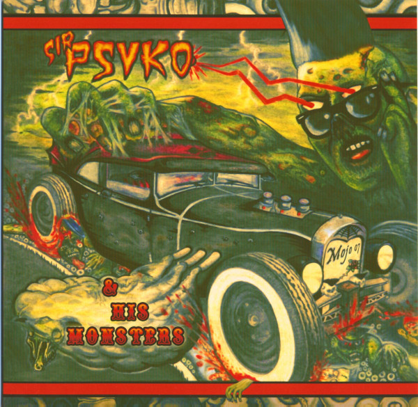 Sir Psyko & His Monsters - Zombie Rock