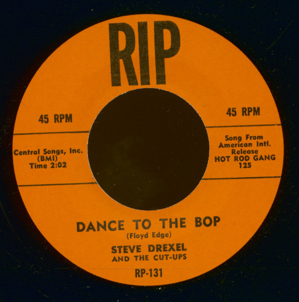 Dance To The Bop - Baby Blue (7inch, 45rpm)