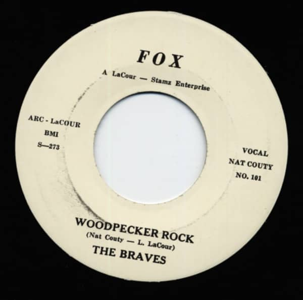 Woodpecker Rock - Won't You Come Along With Me (7inch, 45rpm)