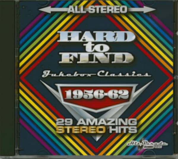 Hard To Find Jukebox Classics 1956-62: 29 Stereo Hits (CD)