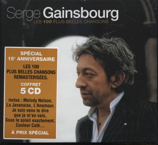 Les 100 Plus Belles Chansons 5-CD-Box