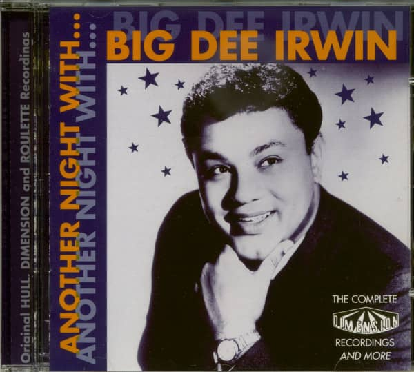 Another Night With Big Dee Irwin (CD)