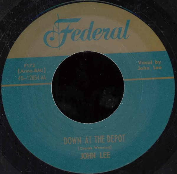 Down At The Depot - Blind's Blues 7inch, 45rpm