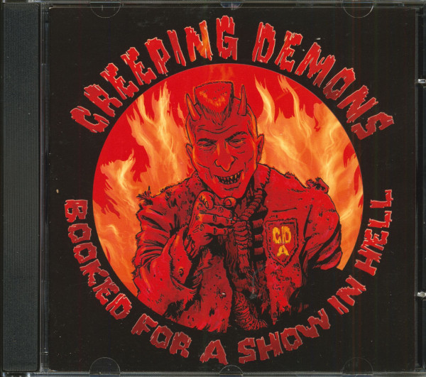 Booked For A Show In Hell (CD)