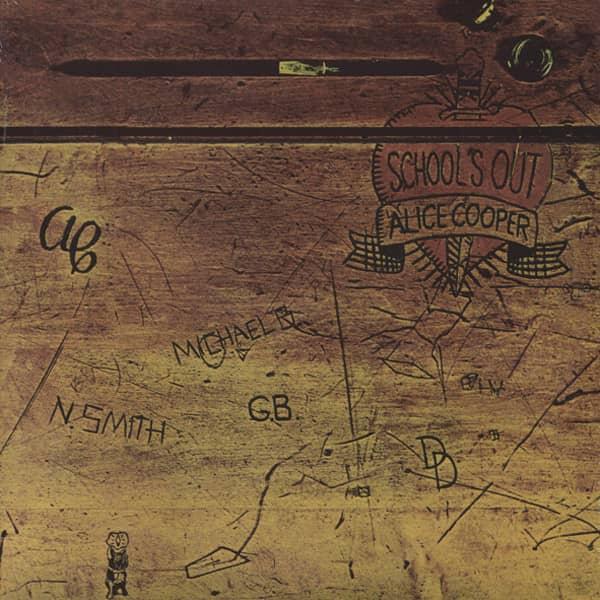 School's Out (1972) 180g Vinyl Gatefold - Klapp