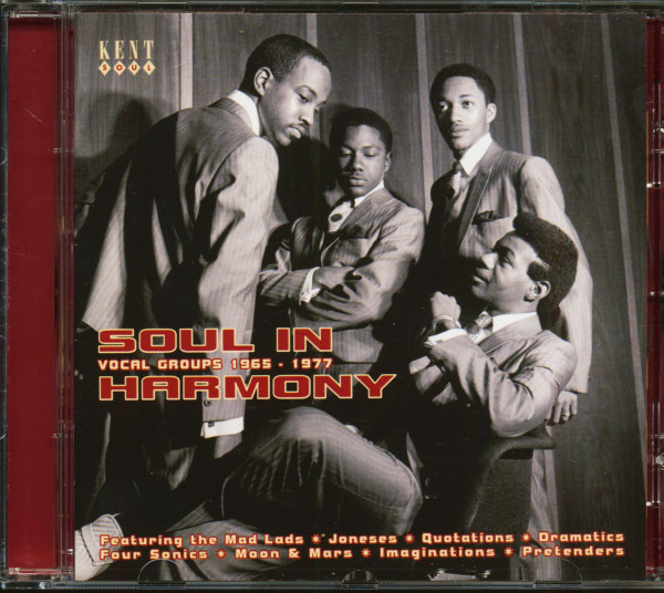 Soul In Harmony - Vocal Groups 1965-1977 (CD)