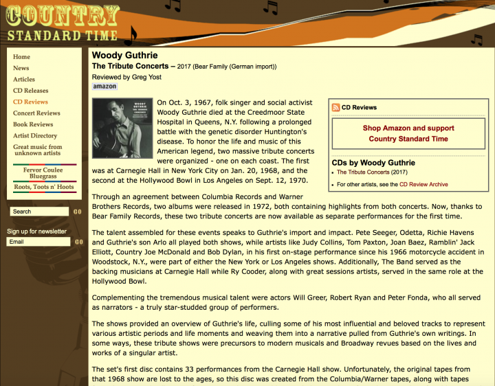 Press-Woody-Guthrie-The-Tribute-Concerts-country-standard-time