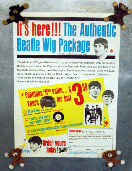 The Authentic Beatle Wig Package (40x60 cm