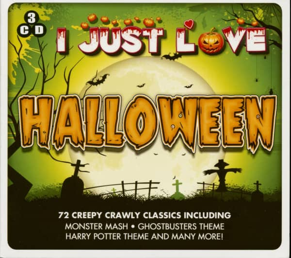 I Just Love Halloween (3-CD)