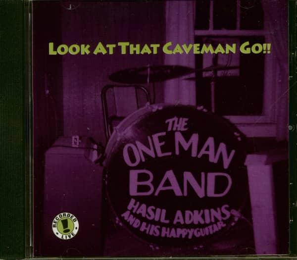 Look At That Caveman Go!! (CD)