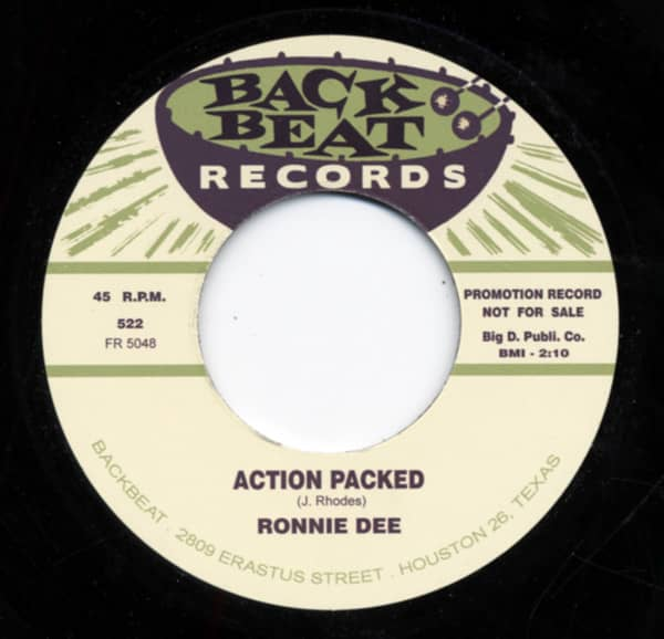 Action Packed b-w I Make The Love 7inch, 45rpm