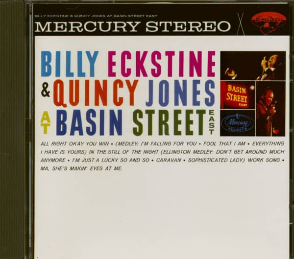 Billy Eckstine & Quincy Jones At Basin Street East (CD)