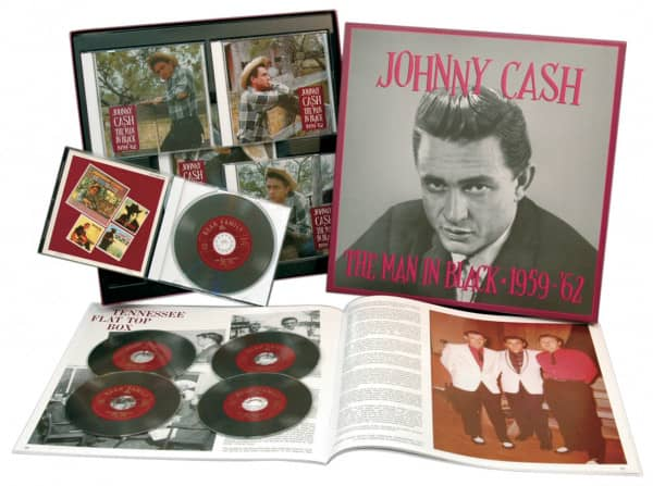 Man In Black 1959-62 Vol.2 (5-CD Deluxe Box Set)