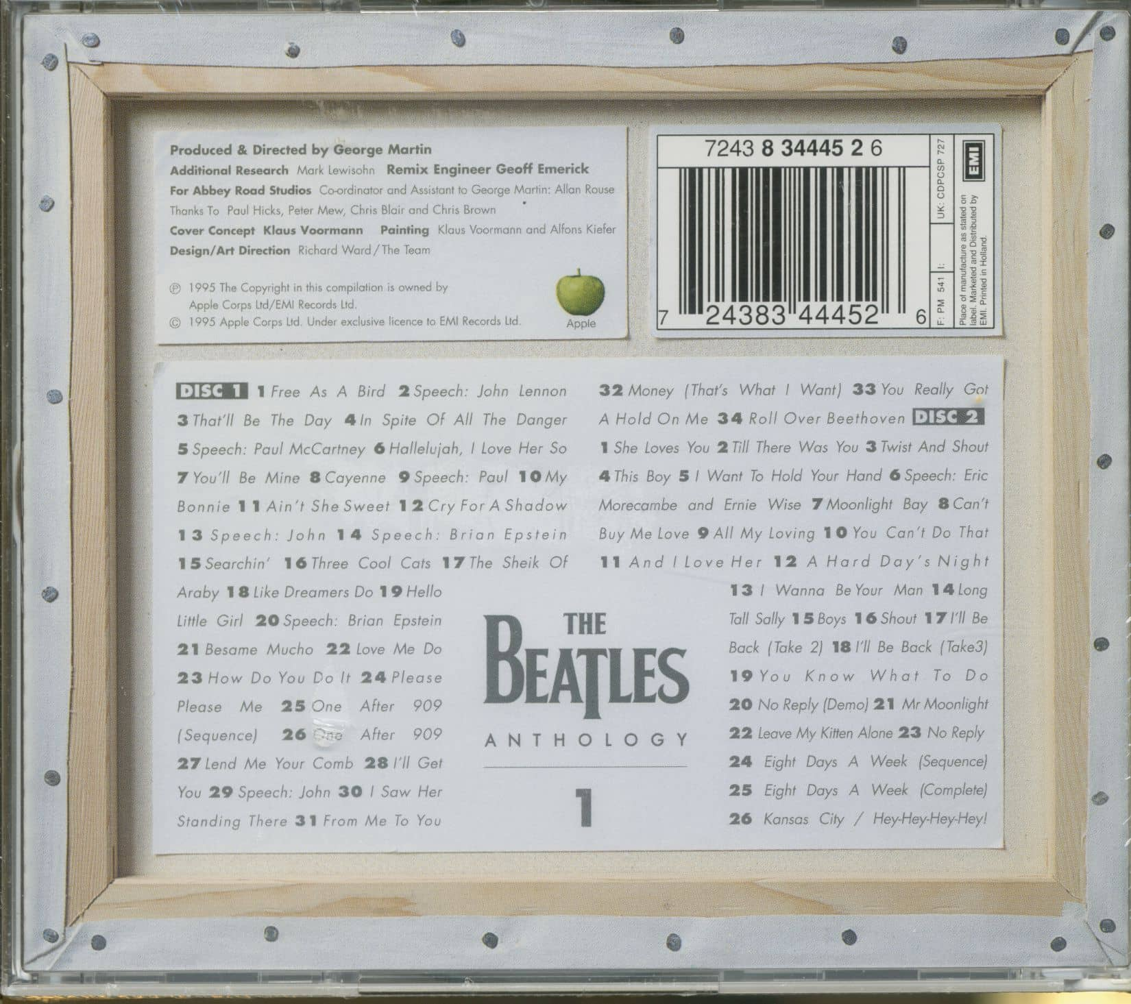 The Beatles Anthology 1 2-CD