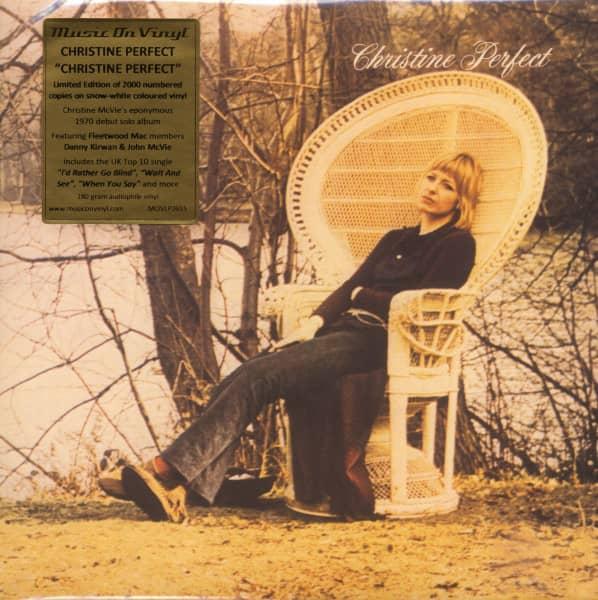 Christine Perfect (LP, 180g White Vinyl, Numbered, Ltd.)