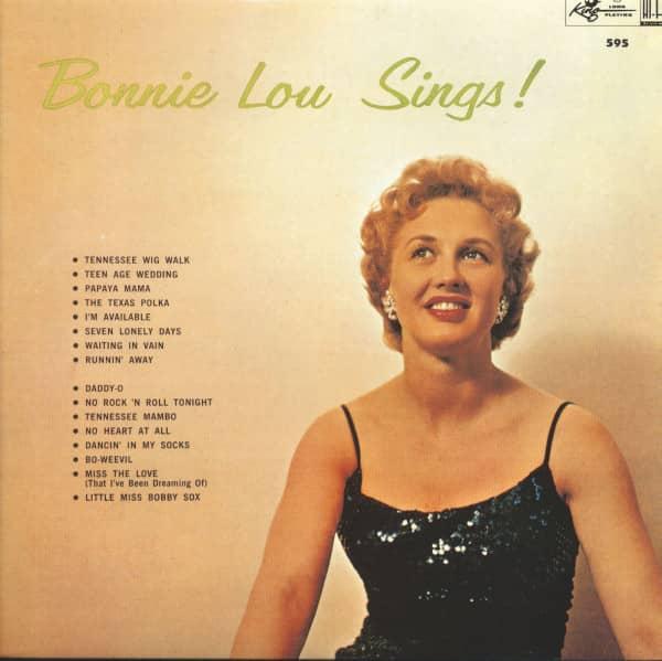 Bonnie Lou Sings (LP)