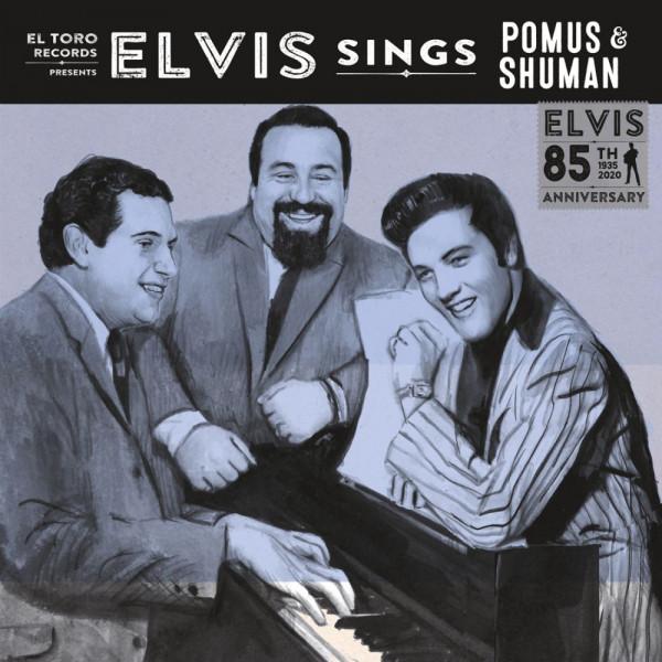 Elvis Sings Pomus & Shuman (7inch, EP, 45rpm, PS)