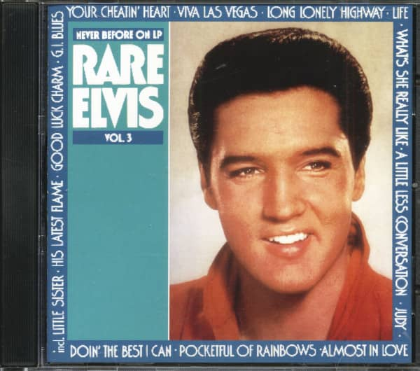 Rare Elvis Vol.3 (CD)