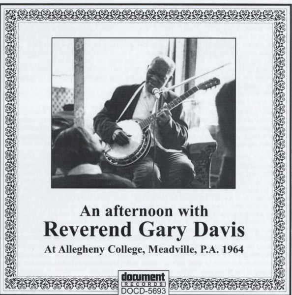 An Afternoon With Rev. Gary Davis
